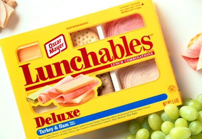 Lunchable from 1992 finishing up digestion